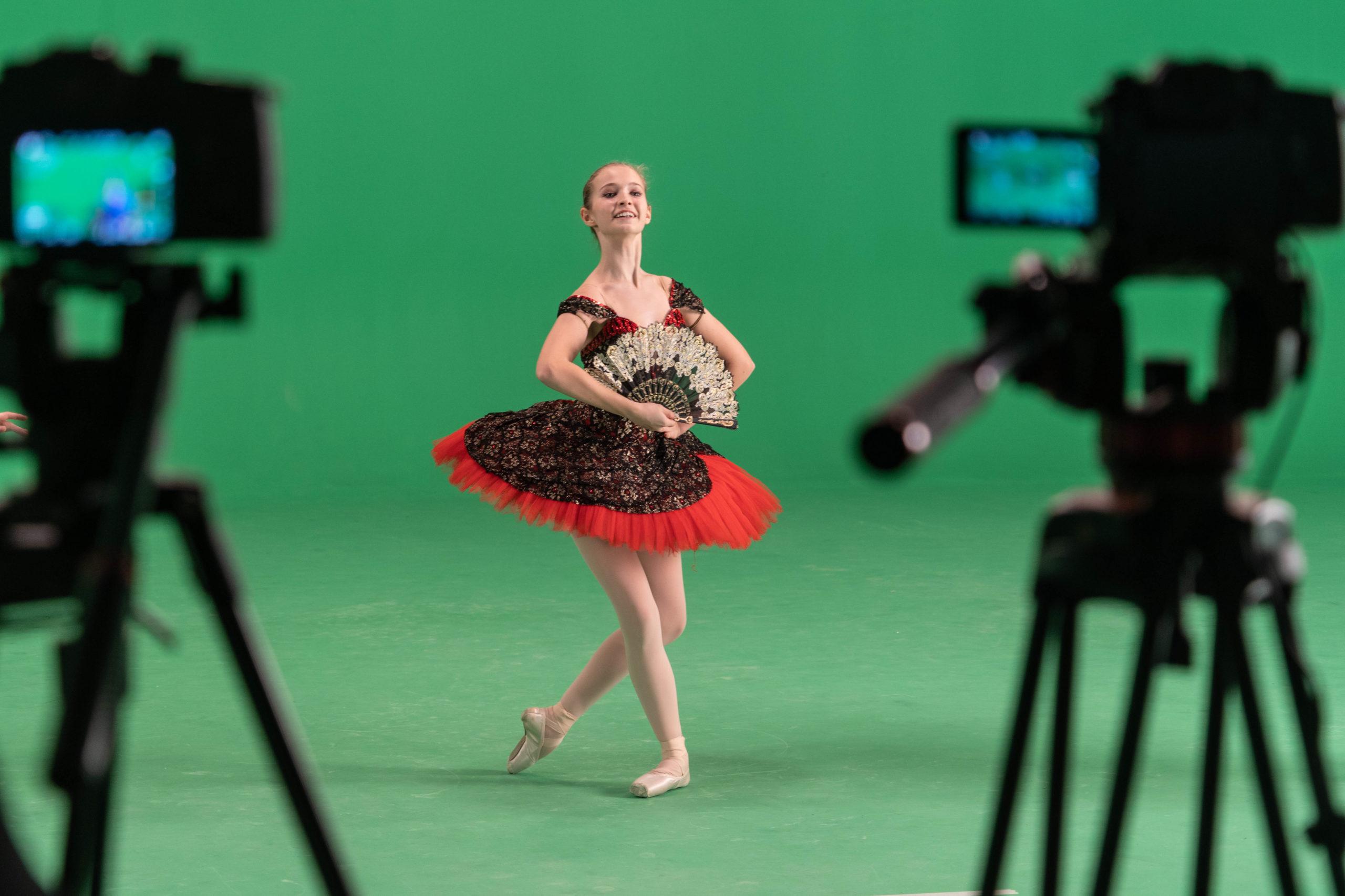 Съёмки фильм-балета на «Мосфильме»