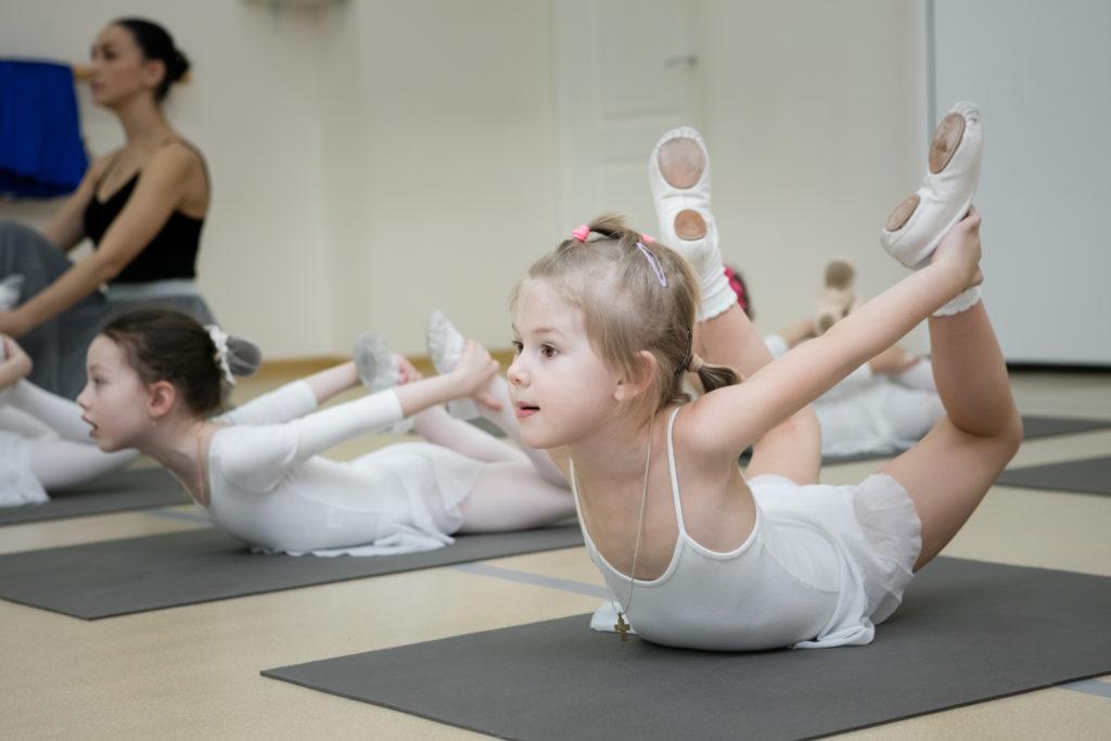 Балет для детей 3-4 лет