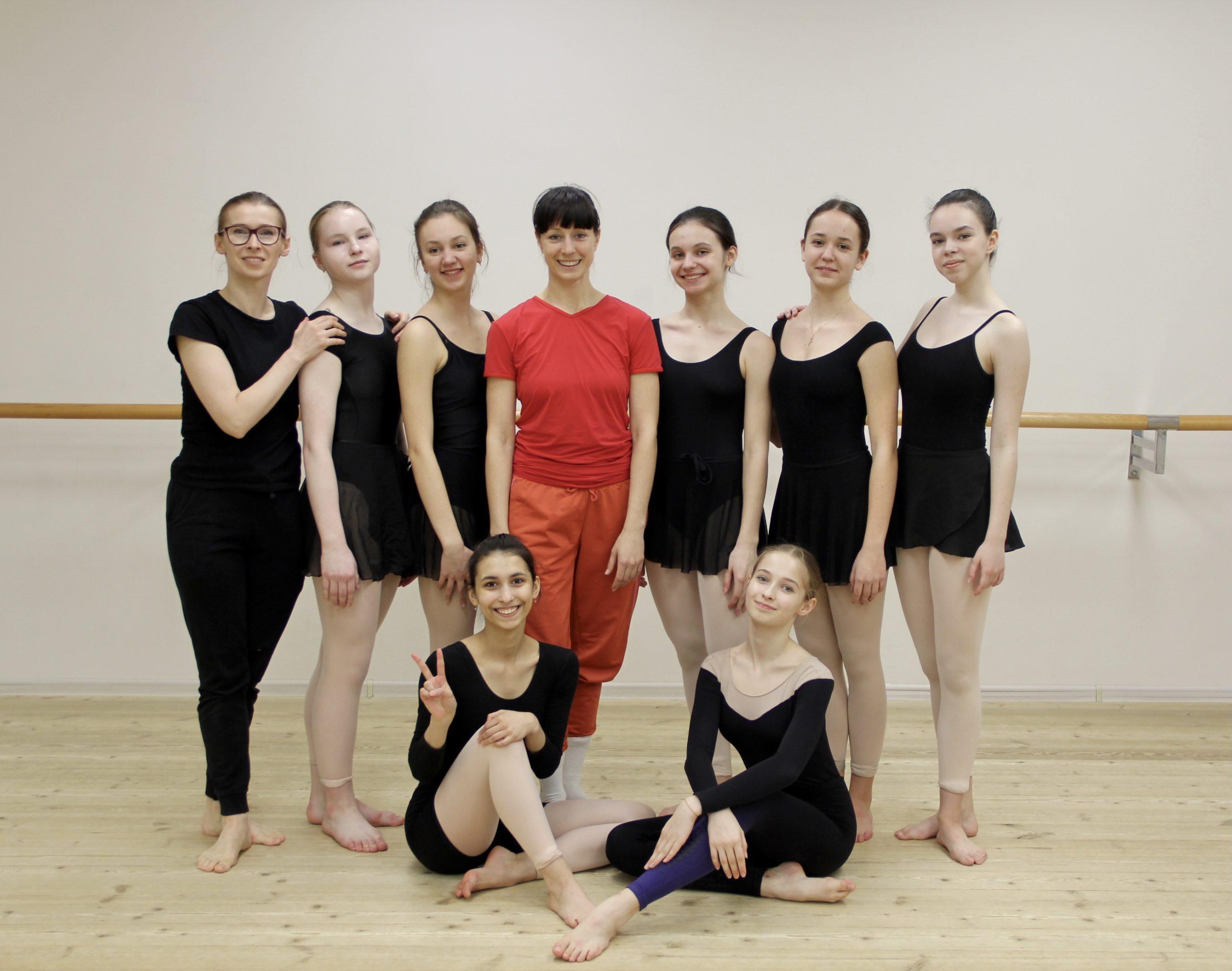 Мастер-класс от Саши Рудик для учащихся школы балета Гармония
